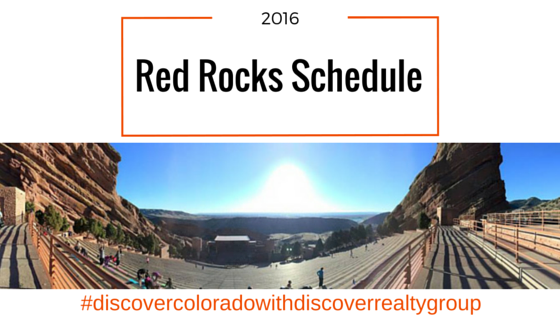Red Rocks Amphitheater Announces 2016 Lineup