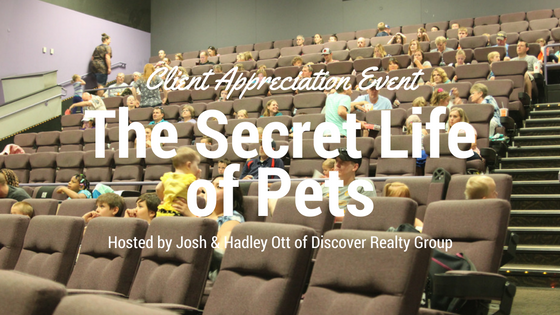 The Secret Life of Pets | Client Appreciation Event